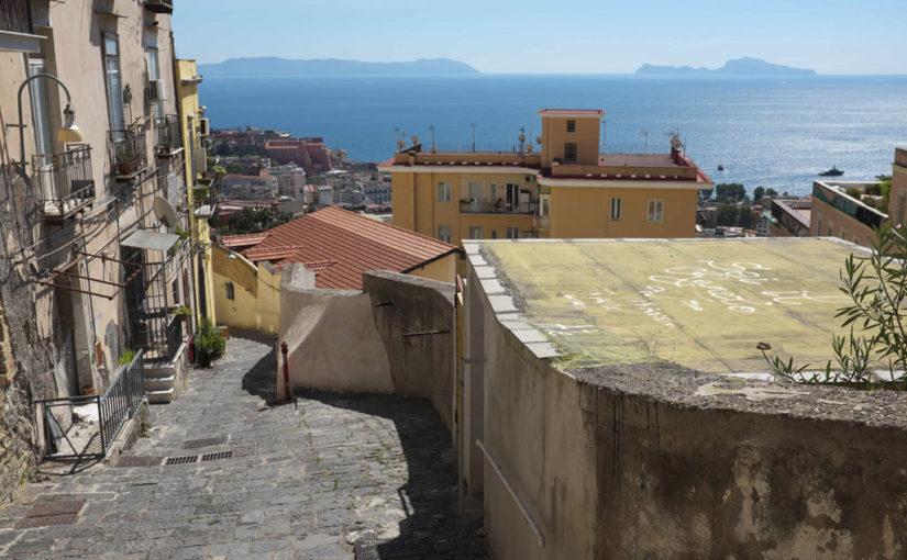 MAPPE – Gradini del Petraio. Da Castel Sant'Elmo alla zona di Chiaia