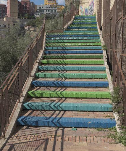MAPPE – Scale mobili del Parco Ventaglieri. Per accorciare il dislivello tra Montesanto e piazza Mazzini